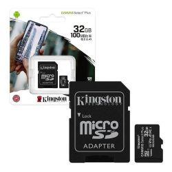 Scheda di memoria microSD con adattatore 32GB Kingston WB257