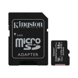 Scheda di memoria microSD con adattatore 64 GB Kingston WB341