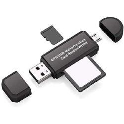 Multifunctional OTG / USB card reader WB365