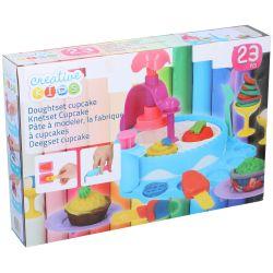 Set da gioco per bambini Cupcakes 23 pezzi Creative Kids Toy ED159
