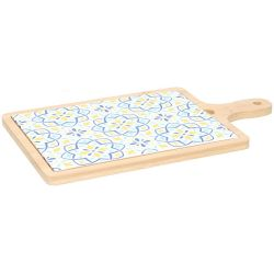 Tagliere in legno per aperitivi e snack vari colori Alpina ED642