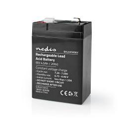 Batteria al piombo ricaricabile Piombo-acido ricaricabile 6V  4500mAh ND1077