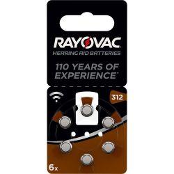 Batteria Zinco-Aria PR41 1.4V 6-Blister Rayovac ND6956