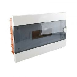 Electrical panel 16-module white flush-mounting switchboard IP40 Elmark EL2408
