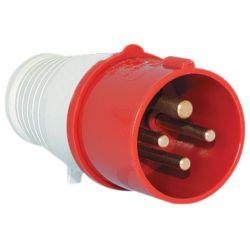 Industrial plug HT-024 32Ñ IP44 3P + E 400V Elmark EL2512