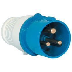 Industrial plug HT-023 32A IP44 1P + N + E 230V Elmark EL2530
