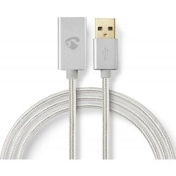 Cavo USB 2.0 maschio/femmina 480 Mbps 2m placcato oro ND6599