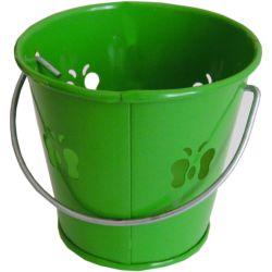 Candela profumata alla citronella in vaso di metallo vari colori Arti Casa ED5374