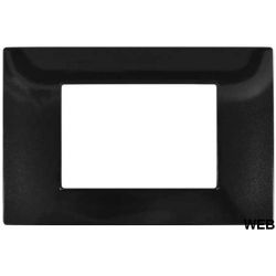 3-place black technopolymer plate compatible with Matix EL1182