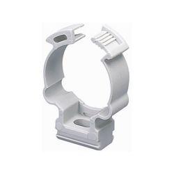 Clip fissatubo a collare diametro 20mm confezione da 100 Elmark EL1559