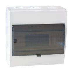 Wall-mounted electrical panel IP55 12 modules Elmark EL207