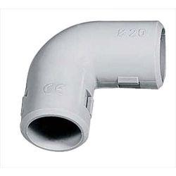 Inspectionable 90Â ° bend diameter 20mm IP40 Elmark EL2387