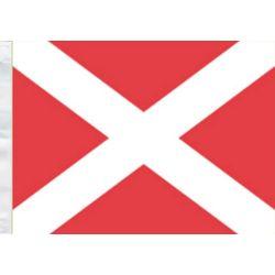"""Bandiera Numerica Segnalazione Nautica """"4"""" 150x180cm FLAG260"""