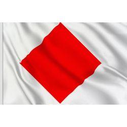 """Bandiera Segnalazione Nautica """"F"""" 150x180cm FLAG264"""