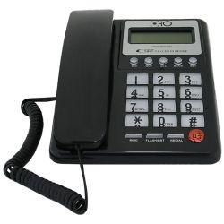 Telefono fisso con tasti grandi e funzione calcolatrice vari colori WB918