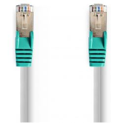 Network cable Cat 5e F / UTP Cross-over RJ45 (8P8C) male cable 5m ND9618