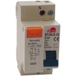 Interruttore magnetotermico Differenziale 2P C10 EL1405