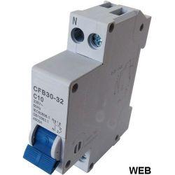 Interruttore magnetotermico 1P C10 EL1480