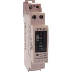 Contatore elettronico monofase SFD-01 40A EL1884