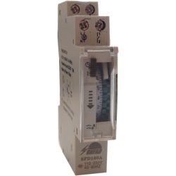 Timer analogico per guida DIN giornaliero - 16A/250V EL285