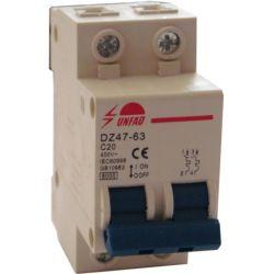 Interruttore magnetotermico 2P - C20 EL510