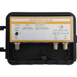 LOG TV amplifier 30dB 2out MT498