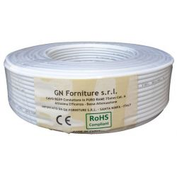 Coaxial cable TV antenna 5mm (CU) class A 100m MT895