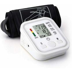 Misuratore pressione sanguigna da braccio automatico sfigmomanometro digitale WB689