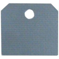 Piastrina isolante in mica per transistor 2.2x2cm 90387
