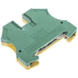 Morsetto di terra verde/giallo livello singolo 800V Weidmüller C9082