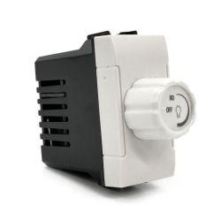 Interruttore dimmer 500W 250V bianco compatibile Living International EL1522 500W