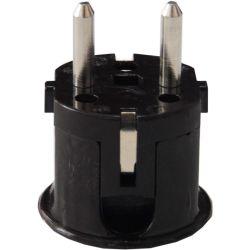 Spina schuko maschio angolare 2P+T 10-16A 250V EL367