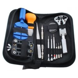 Kit di strumenti per riparazione orologi 13 pezzi WB1812
