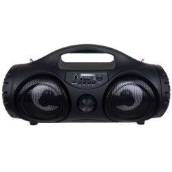 """Altoparlante bluetooth/USB/AUX/SD con radio e microfono 2x4"""" 10W WB1215"""