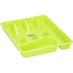 Contenitore portaposate da cucina verde 4.5x27x34cm ED566