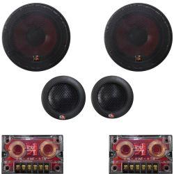 Kit Car audio sistema a 2 vie tweeter/woofer/filtri  450W SP033
