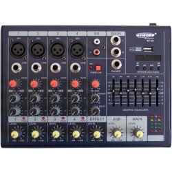 Mixer ultra slim a 6 canali con USB WF-6G SP7799