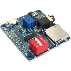 Modulo lettore MP3 trigger/controllo porta seriale scheda di riproduzione audio vocale WB1468