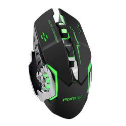 Mouse da gaming LED wireless con batteria ricaricabile incorporata nero FV-W502 WB2360
