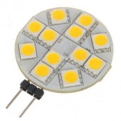 Lampada LED 12 SMD 5050 G4 12V AC - Luce fredda LED536