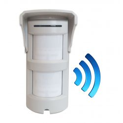 Sensore Volumetrico a doppio PIR Wireless da esterno Z355