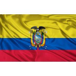 State and Military Flag Ecuador 200x400 cm FLAG075
