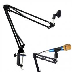 Adjustable table stand for microphone MIC550