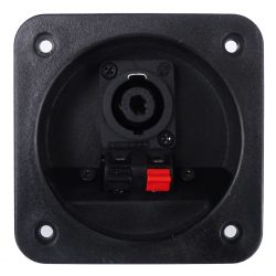 2-pole spring terminal block with speakon for acoustic speakers SP6010