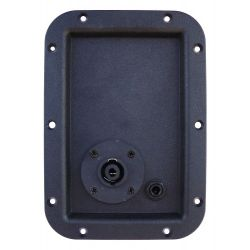 Panel with speakon and jack 6.3mm SP295