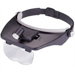 """Visor"" magnifying lens with LED lighting U835"