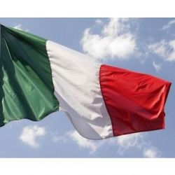 Bandiera italiana 130x200 cm FLAG105