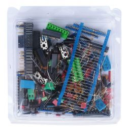 Mixed electronic components kit in blister packs Q435