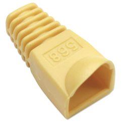 Copriconnettore per Plug RJ45 6.2mm Giallo F1021