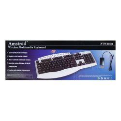 ZTW3000 Amstrad Wireless Multimedia Keyboard P830
